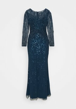 Adrianna Papell - BEADED MERMAID GOWN - Occasion wear - deep blue
