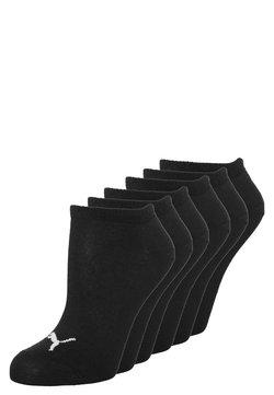 Puma - SNEAKER PLAIN 6 PACK UNISEX - Varrettomat sukat - black