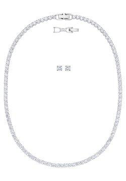 Swarovski - TENNIS DELUXE SET - Ohrringe - white