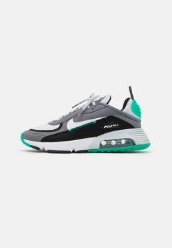 Nike Sportswear - AIR MAX 2090 - Sneakers laag - smoke grey/white/black/clear emerald/pure platinum