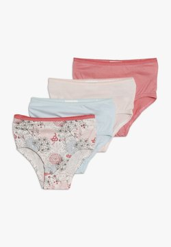 Jacky Baby - FLOWERS 4 PACK - Slip - light blue