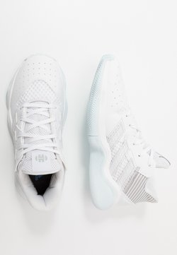 adidas Performance - HARDEN BOUNCE BASKETBALL SHOES UNISEX - Indoorskor - footwear white/silver metallic/sky tint