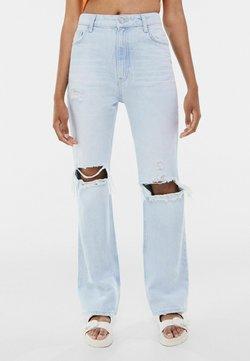 Bershka - Jeans Bootcut - light blue
