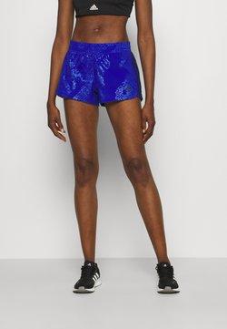 adidas Performance - PACER CAMO - Krótkie spodenki sportowe - bold blue