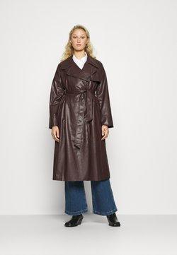 Who What Wear - CLASSIC  - Trenchcoat - dark chocolate
