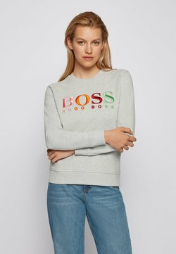 BOSS - Sweater - silver