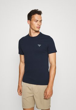 Barbour Beacon - BEACON SMALL LOGO TEE - T-shirt basic - new navy