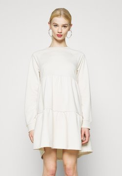 Monki - OSMA DRESS - Vapaa-ajan mekko - white dusty light unique