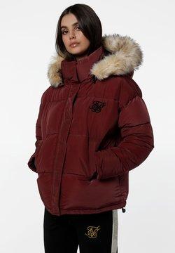 SIKSILK - Winterjacke - burgundy
