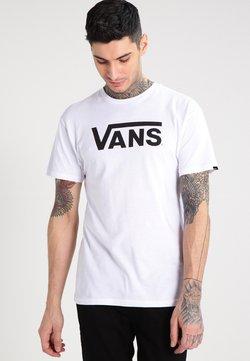 Vans - T-shirt con stampa - white/black