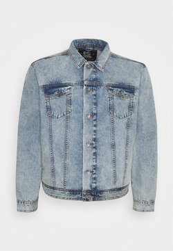 URBN SAINT - MARLIN JACKET - Veste en jean - light blue