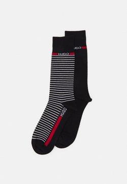 HUGO - STRIPE 2 PACK - Socken - black