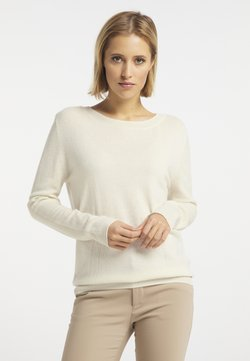 DreiMaster - Stickad tröja - wollweiss