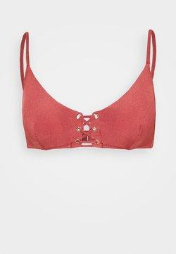 watercult - SUMMER SOLIDS - Bikini-Top - rebel rose