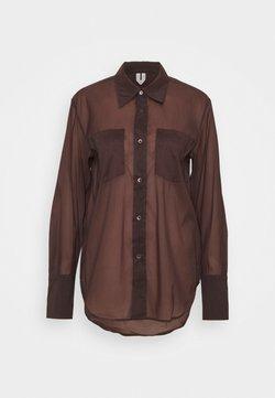 ARKET - SHIRT - Button-down blouse - brown
