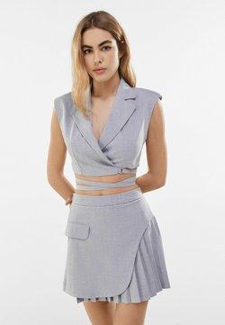 Bershka - Spódnica trapezowa - grey
