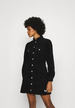 Tommy Jeans - FITTED DRESS - Blusenkleid - black