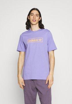 adidas Originals - LINEAR LOGO TEE - Camiseta estampada - light purple