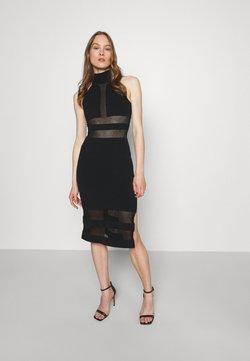 Hervé Léger - HERVE LEGER X JULIA RESTOIN ROITFELD HALTER COLUMN DRESS - Cocktailkleid/festliches Kleid - black