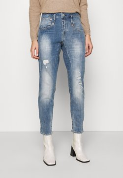 Herrlicher - SHYRA CROPPED STRETCH - Relaxed fit jeans - blend destroy
