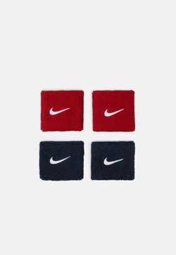 Nike Performance - WRISTBANDS 4 PACK - Muñequera - habanero red/obsidian