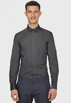 WE Fashion - SLIM FIT STRETCH - Hemd - grey