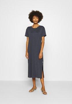 Marc O'Polo DENIM - DRESS SHORT SLEEVE - Jerseykleid - scandinavian blue