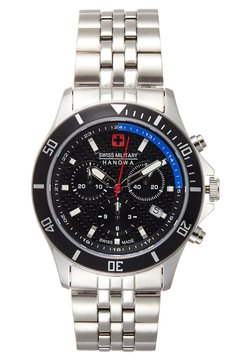 Swiss Military Hanowa - FLAGSHIP RACER - Montre à aiguilles - black/silver-coloured