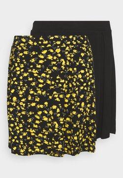 Even&Odd Curvy - 2 PACK - A-Linien-Rock - black/multi-coloured