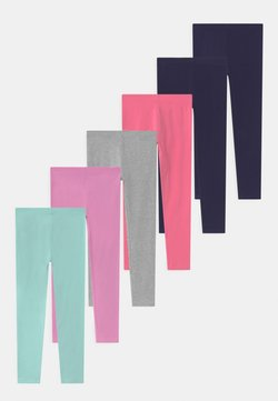 Friboo - 7 PACK - Legging - dark blue/purple/pink