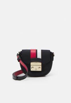 Furla - METROPOLIS MICRO BAG - Across body bag - nero/ruby/talco