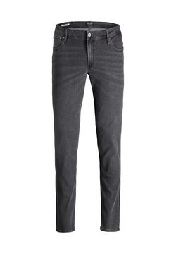 Jack & Jones - PLUS SIZE SLIM FIT JEANS GLENN ORIGINAL - Slim fit jeans - grey denim