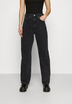 Weekday - FLOAT  - Jeans relaxed fit - washed black
