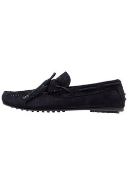 Selected Homme - SLHSERGIO DRIVE SHOE - Mocassins - dark navy