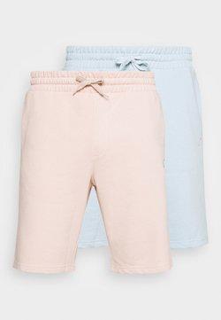 Pier One - 2 PACK - Shorts - pink/light blue