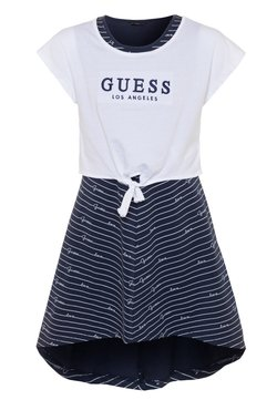 Guess - DRESS - Jerseykleid - blue