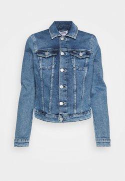 Tommy Jeans - VIVIANNE SLIM DENIM TRUCKER  - Veste en jean - light blue denim