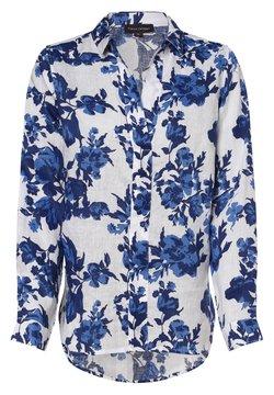 Franco Callegari - Bluse - weiß blau