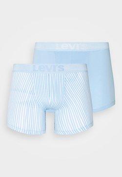Levi's® - MEN VERTICAL STRIPE BRIEF 2 PACK - Panties - light blue