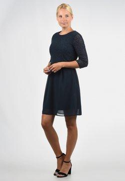 Vero Moda - SPITZENKLEID EVE - Cocktailkleid/festliches Kleid - dark blue