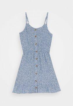 Abercrombie & Fitch - BEST BACK EASTER DRESS - Freizeitkleid - blue