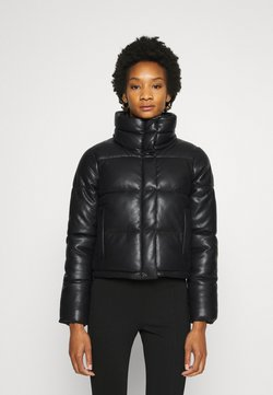 Abercrombie & Fitch - MINI PUFFER - Bomber Jacket - black
