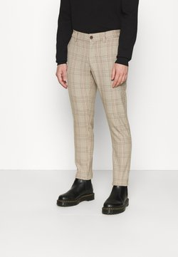 Only & Sons - ONSMARK PANT CHECK - Stoffhose - chinchilla