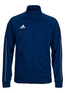 adidas Performance - CORE ELEVEN FOOTBALL TRACKSUIT JACKET - Trainingsjacke - dark blue/white