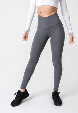 OGY Apparel - AMINTA GLEAM WORKOUT  - Legging - grey