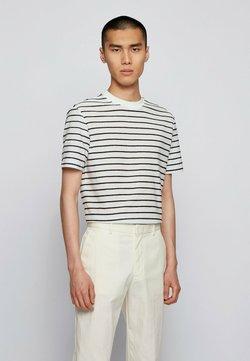 BOSS - TIBURT - T-Shirt print - natural