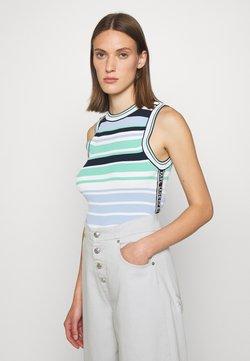 KARL LAGERFELD - Strickpullover - multi/stripes
