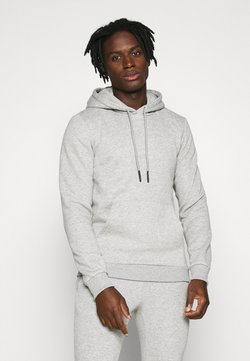 Only & Sons - ONSCERES LIFE  - Sweat à capuche - light grey melange