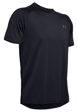 Under Armour - TECH NOVELTY - T-Shirt basic - black