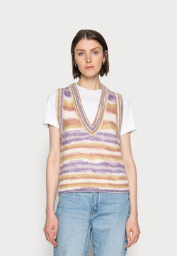 Cream - ERICA SLIPOVER - Strickpullover - multi-coloured